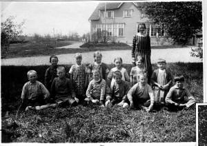 Norrhults skola, troligen 1924/1925