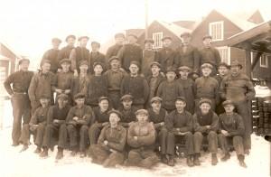 Arbetare vid Norrhults gjuteri