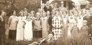 Bild 59 nummer a Samling hos J. A. Goth, Braas 1926