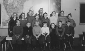 Boestads skola läsåret 1952/1953