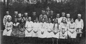 Boestads skola, klass 1920