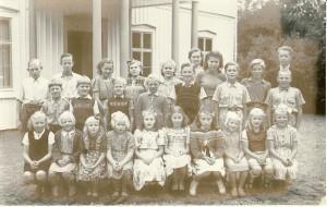 Flybos skola, läsåret 1949/1950
