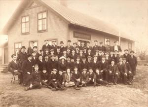 IOGT:s folkhögskolekurs våren 1913