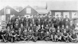 Gjuteripersonal, tidigt 1930-tal