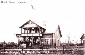 Hotell Blom, Norrhultsvägen 56, 1908