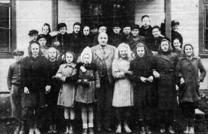 Klavreströms skola 1944