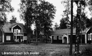 Klavreströms skola och lärarbostad