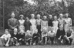 Klavreströms skola, läsåret 1954/1955