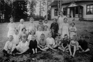 Klavreströms skola ca 1925