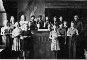 Klavreströms skola 1942