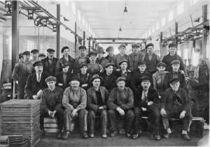 Arbetare vid Klafreströms bruk, okänt år