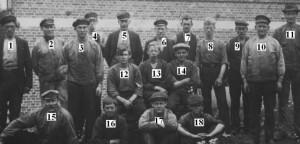 Klavrestroms bruk arbetare nummer