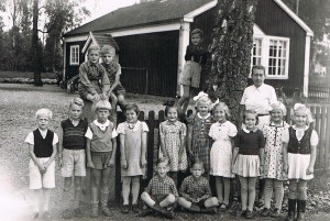 Klavreströms skola, 1a klass 1943