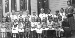 Klavrestroms skola sent 20-tal nummer