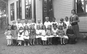 Klavreströms skola sent 1920-tal