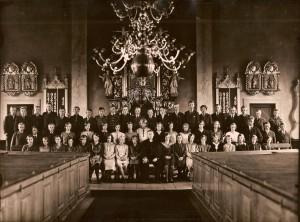 Konfirmander i Nottebäcks kyrka, okänt år