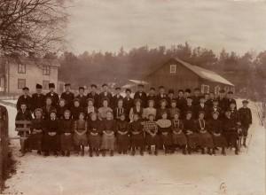 Konfirmander i Nottebäcks socken 1911