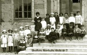Norrhults skola, början av 1910-talet