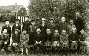 Norrhults skola 1945