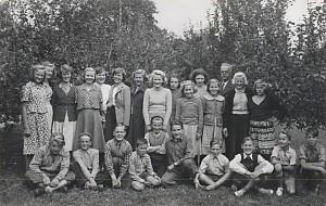 Norrhults skola, 7e klass 1951/1952