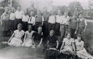 Norrhults skola 1937, klass 5 och 6