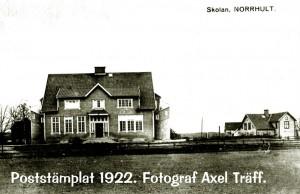 Norrhults skola 1922 eller tidigare