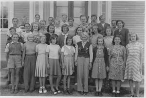 Norrhults skola 7e klass, 1950/1951