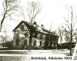 Nottbebäcks skola 1902