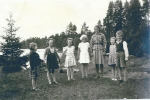 Nottebäcks skola, hösten 1942
