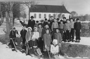 Nottebäcks skola, 4e klass 1948/1949