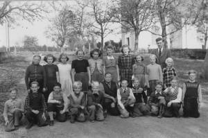 Nottebäcks skola, 6e klass 1950/1951