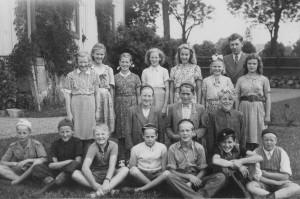 Nottebäcks skola, 5e klass 1949/1950