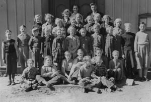 Nottebäcks skola 1952/1953