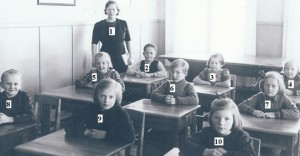 Notteback skolkort 1941 nummer