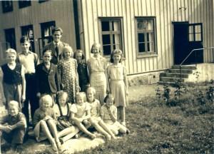 Nottebäcks skola 1943/1944