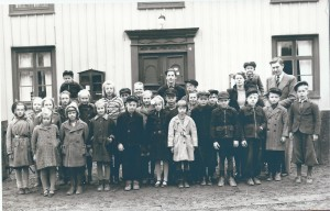 Nottebäcks skola 1944/1945