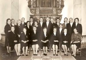 Nottebäcks kyrkokör 1961