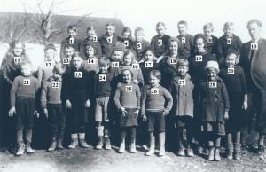 Nottebacks skola 1936-37 names