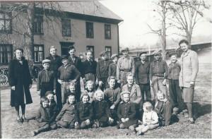 Nottebäcks skola, 1942/1943