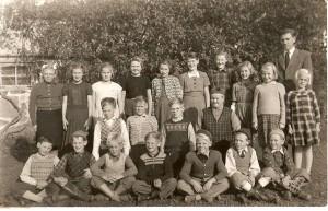 Nottebäcks skola 3-6e klass 1950/1951
