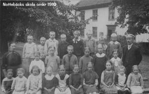 Nottebäcks skola 1917