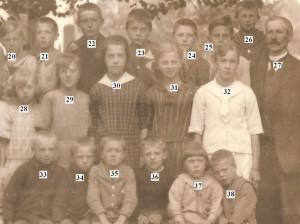 Nottebacks skola troligen 1920 1921 nummer b