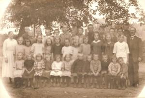 Nottebäcks skola ca 1920/1921