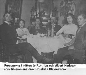 Rut Ida och Albert Karlsson