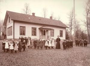 Klavreströms skola 1907