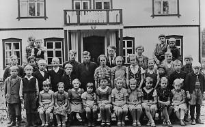 Flybos skola, läsåret 1943/1944