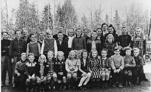 Flybos skola 1948