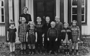 Flybos skola läsåret 1945/1946