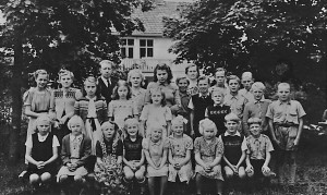 Flybos skola, läsåret 1948/1949
