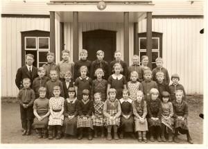 Flybos skola läsåret 1936/1937